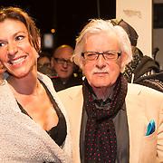 NLD/Amsterdam/20140307 - Boekenbal 2014, Jan Siebelink en partner
