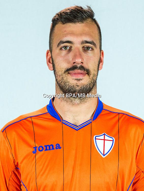 Italian League Serie A -2016-2017 / <br /> ( UC Sampdoria ) - <br /> Emiliano Viviano
