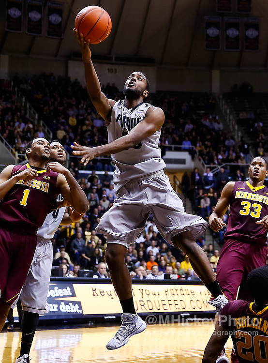 WEST LAFAYETTE, IN - MARCH 09: Rapheal Davis #35 of the Purdue Boilermakers shoots the ball against the Minnesota Golden Gophers at Mackey Arena on March 9, 2013 in West Lafayette, Indiana.  (Photo by Michael Hickey/Getty Images) *** Local Caption *** Rapheal Davis