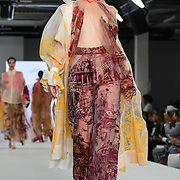 Designer Louise Clark the Best of Graduate Fashion Week showcases at the Graduate Fashion Week 2018, June 6 2018 at Truman Brewery, London, UK.
