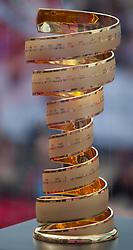 23.05.2012, Pfalzen, ITA, Giro d' Italia 2012, 17. Etappe, Pfalzen - Cortina d'Ampezzo, Start in Pfalzen, im Bild Pokal // Giro d'Italia trophy during Giro d' Italia 2012 at Stage 17 Pfalzen - Cortina d Ampezzo, at start, Pfalzen, Italy on 2012/05/23. EXPA Pictures © 2012, PhotoCredit: EXPA/ J. Groder