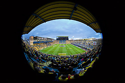 VILLRREAL, SPAIN - Thursday, April 28, 2016: A general view of Estadio El Madrigal ahead of the UEFA Europa League Semi-Final 1st Leg match between Villarreal CF and Liverpool. (Pic by David Rawcliffe/Propaganda)