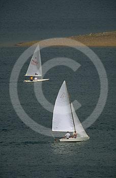 PA landscapes Sailing, PA Lakes, Codorus State Park, York Co., PA