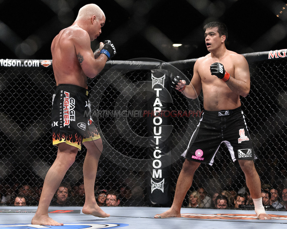"""LAS VEGAS, NEVADA, MAY 24, 2008: during """"UFC 84: Ill Will"""" inside the MGM Grand Garden Arena in Las Vegas"""