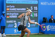 Angelique Kerber in action during the Aegon Classic at Edgbaston Priory Club, Birmingham, United Kingdom on 17 June 2016. Photo by Shane Healey.