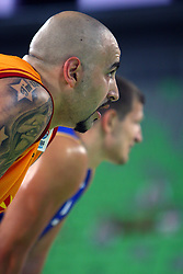 Pero Antic of Macedonia at friendly match between Macedonia and BIH for Adecco Cup 2011 as part of exhibition games before European Championship Lithuania on August 6, 2011, in SRC Stozice, Ljubljana, Slovenia. (Photo by Urban Urbanc / Sportida)