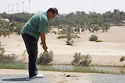 Abu Dhabi, United Arab Emirates (UAE). .March 20th 2009..Al Ghazal Golf Club..36th Abu Dhabi Men's Open Championship..Hany Abdelnour