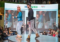 06.10.2010, Atomic Homebase, Altenmarkt, AUT, Atomic Medien Tag 2016, im Bild Elisabeth Görgl, Marco Schwarz // Elisabeth Görgl, Marco Schwarz during the Atomic Media Day at Atomic Homebase in Altenmarkt, Austria on 2016/10/06. EXPA Pictures © 2016, PhotoCredit: EXPA/ Johann Groder