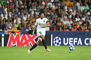 Daniel Parejo of Valencia CF during the UEFA Champions League, Group H football match between Valencia CF and Juventus FC on September 19, 2018 at Mestalla stadium in Valencia, Spain - Photo Manuel Blondeau / AOP Press / ProSportsImages / DPPI