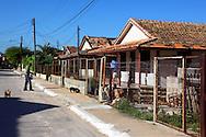 Street in Santa Fe, Havana, Cuba.