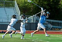 Sonoma State Seawolves lacrosse plays Cal Berkley in the first round playoff game, Friday, April 27, 2018.<br /> Photo Brian Baer