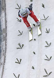 03.01.2014, Bergisel Schanze, Innsbruck, AUT, FIS Ski Sprung Weltcup, 62. Vierschanzentournee, Training, im Bild Simon Ammann (SUI) // Simon Ammann (SUI) during practice Jump of 62nd Four Hills Tournament of FIS Ski Jumping World Cup at the Bergisel Schanze, Innsbruck, <br /> Austria on 2014/01/03. EXPA Pictures © 2014, PhotoCredit: EXPA/ JFK