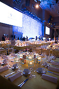 Guests attend the 9/11 Memorial Annual Gala at Cipriani's Wall Street in New York, NY on September 9, 2015. Photo by Ben Hider/911 Memorial