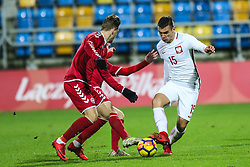 November 14, 2017 - Gdynia, Poland - Jakub Bartosz (POL) in action during UEFA U21 Championship Qualifier match between Poland and Denmark on November 14, 2017 in Gdynia, Poland. (Credit Image: © Foto Olimpik/NurPhoto via ZUMA Press)