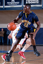 Northeast's Alex Poythress looks for an open teammate in the first half. Lafayette hosted Northeast (TN)  Saturday, Jan. 07, 2012 at Lexington Catholic Gym in Lexington.