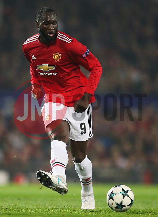Romelu Lukaku of Manchester United - Mandatory by-line: Matt McNulty/JMP - 31/10/2017 - FOOTBALL - Old Trafford - Manchester, England - Manchester United v Benfica - UEFA Champions League Group A
