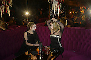 Tamara Williams and Alexandra Price, Halloween party at Raffles. King's Rd. London. 31 October 2007. -DO NOT ARCHIVE-© Copyright Photograph by Dafydd Jones. 248 Clapham Rd. London SW9 0PZ. Tel 0207 820 0771. www.dafjones.com.