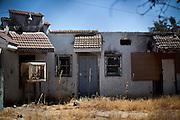 Abandoned housing in Mendota, Calif., September 10, 2012.