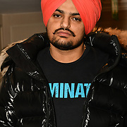 Sidhu Moose Wala attend the BritAsiaTV Presents Kuflink Punjabi Film Awards 2019 at Grosvenor House, Park Lane, London,United Kingdom. 30 March 2019