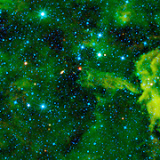Seen here by NASA's WISE, the cloud CG4.