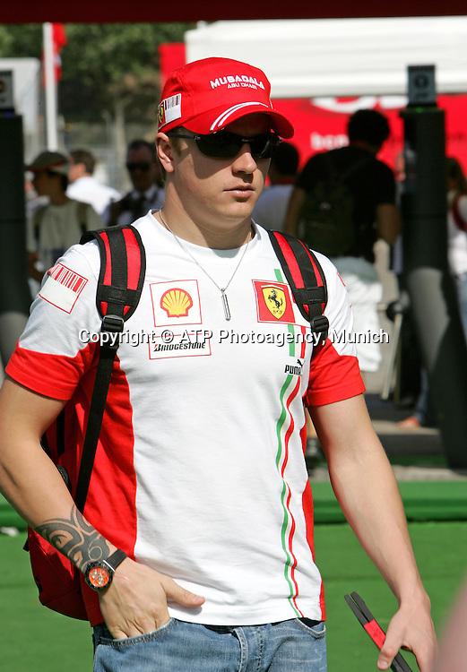 Kimi RƒIKK÷NEN - Raikkonen - SF, FERRARI 2007 - GP d'Espagne a Barcelone (Montmelo) Circuit de Catalunya - 13.05.2007 - GP von Spanien - Formel 1 - copyright mandatory © ATP Jean-Philippe PARIENTE