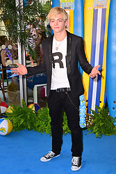 Teen Beach Movie Screening.<br /> Ross Lynch during screening of musical adventure where surfer teens mysteriously wind up in a classic beach party movie called Wet Side Story.  The Riverfront Cafe Bar, BFI, Belvedere Road, London, United Kingdom<br /> Sunday, 7th July 2013<br /> Picture by Nils Jorgensen / i-Images