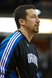 March 9, 2011; Sacramento, CA, USA;  Orlando Magic small forward Hedo Turkoglu (15) warms up before the game against the Sacramento Kings at the Power Balance Pavilion.