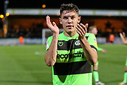 Forest Green Rovers Paul Digby(20) during the EFL Sky Bet League 2 match between Cambridge United and Forest Green Rovers at the Cambs Glass Stadium, Cambridge, England on 2 October 2018.