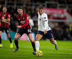 BOURNEMOUTH, ENGLAND - Saturday, December 7, 2019: Liverpool's Roberto Firmino during the FA Premier League match between AFC Bournemouth and Liverpool FC at the Vitality Stadium. (Pic by David Rawcliffe/Propaganda)