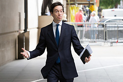 © Licensed to London News Pictures. 26/05/2019. London, UK. RORY STEWART MP is seen arriving at BBC Broadcasting Houses in London. A number of Conservative MPs have entered the race to be the new leader of the party. Photo credit: George Cracknell Wright/LNP