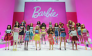 The 2016 Barbie Fashionistas line is displayed at the New York Fair, Friday, Feb. 12, 2016.  The line includes four body types (the original and three new bodies), 7 skin tones, 22 eye colors, 24 hairstyles, and countless on-trend fashions and accessories. (Photo by Diane Bondareff/AP Images for Mattel)