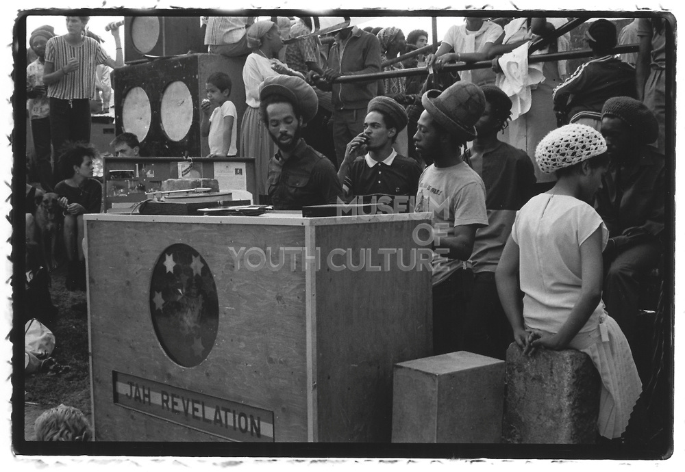 Jah Revelation. Roots Style N' Passion, Notting Hill, London, 1985
