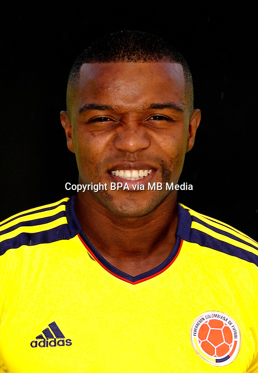 Football Fifa Brazil 2014 World Cup / <br /> Colombia National Team -<br /> Dorlan Pabon of Colombia