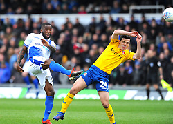 Abu Ogogo of Bristol Rovers shoots at goal-Mandatory by-line: Nizaam Jones/JMP- 16/03/2019 - FOOTBALL - Memorial Stadium - Bristol, England - Bristol Rovers v Charlton Athletic - Sky Bet League One