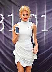 JAN 31 2013 Pixie Lott unveils the new white Blackberry Z10
