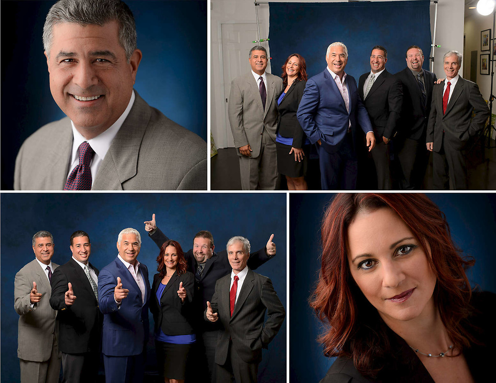 Headshot and business portraits for internal and external communications.