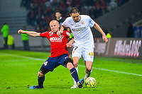 Florent BALMONT / Benjamin BOULENGER - 03.02.2015 - Lille / Lens - 35eme journee de Ligue 1<br />