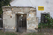 Abandoned home and land in the village of Bakonygyirot (pop 178), Gyor-Moson-Sopron, Hungary