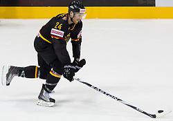Andre Rankel of Germany during ice-hockey match between Slovakia and Germany of Group A of IIHF 2011 World Championship Slovakia, on May 1, 2011 in Orange Arena, Bratislava, Slovakia. Germany defeated Slovakia 4-3. (Photo By Vid Ponikvar / Sportida.com)
