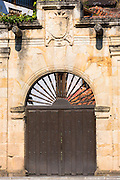 Doorway in Cabazon de Liebana in Cantabria, Northern Spain
