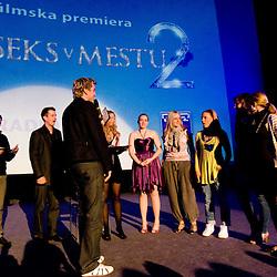 20100602: SLO, Premiera filma Sex v mestu 2, ljubljanski Kolosej