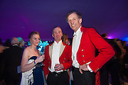 CATHERINE SMITH; ANGUS SHILEDS; JOSH HANBURY, Quorn Hunt Ball, Stanford Hall. Standford on Soar. 25 January 2014