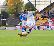Dundee&rsquo;s Rory Loy scores his side's consolation goal from the penalty spot - St Johnstone v Dundee, Ladbrokes Scottish Premiership at McDiarmid Park, Perth. Photo: David Young<br /> <br />  - &copy; David Young - www.davidyoungphoto.co.uk - email: davidyoungphoto@gmail.com