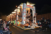 Jurassic Warriors by Eclipse Carnival Club in 2011. Bridgwater Carnival is an annual event to raise money for local charities. It is widely reputed to be the largest illuminated carnival in the world.