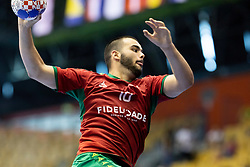 Goncalo Vieira of Portugal during handball match between National teams of Germany and Portugal in game for Third place of 2018 EHF U20 Men's European Championship, on July 29, 2018 in Arena Zlatorog, Celje, Slovenia. Photo by Urban Urbanc / Sportida