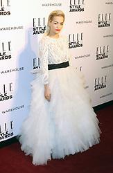© Licensed to London News Pictures. 18/02/2014, UK. Rita Ora,  ELLE Style Awards, One Embankment, London UK, 18 February 2014. Photo credit : Richard Goldschmidt/Piqtured/LNP