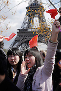 Olympic flame in Paris