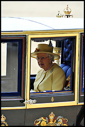 HM The Queen with Prince Phillip leave Horse Guards Parade after the Queen's Trooping of the Colour, The Queen's Birthday Parade, Saturday June 16, 2012. Photo by Andrew Parsons/i-Images..All Rights Reserved ©Andrew Parsons/i-Images .See Special Instructions