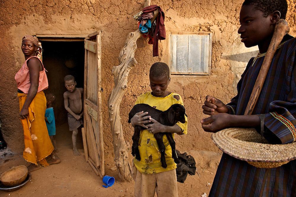 On the farm of Yacouba Sawadogo near the village of Gourga in northern Burkina Faso (north of Oubhigouya.