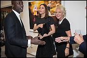 OSWALD BOATENG; SASHA VOLKOVA; AMANDA ELLIASCH, Dancing Away – Photographic works by Mikhail Baryshnikov. Exhibition hosted by ContiniArtUK and  jewellery designers Damiani. New Bond St. London. 27 November 2014